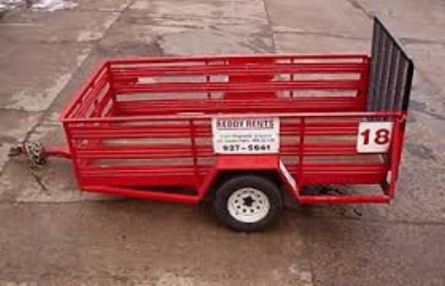 Rent Utility Trailers